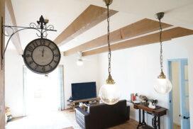 #16 可愛い照明と漆喰Mamanの家