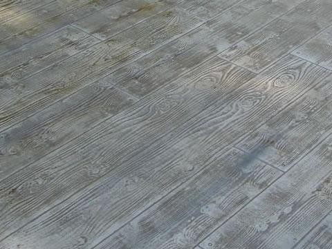 デザインコンクリート 木目
