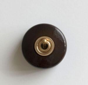 陶器スイッチ ブラウン 5,800円(税別)