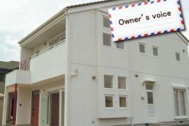 #04 白と四角の窓が映える家