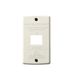 STEEL Switch plate 1穴<BU>  900円(税別)