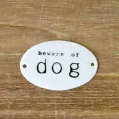 エナメルプレート<dog> 200円(税別)