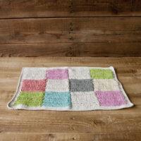 かぎ針編みのマット カラフル 3,080円