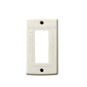 STEEL Switch plate 3穴BU  990円