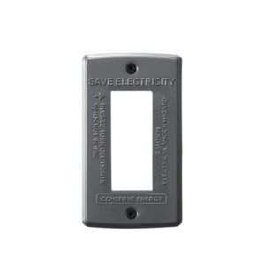 STEEL Switch plate 3穴<GY>  900円(税別)