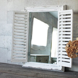 ANCIENT WINDOW FRAME MIRROR WHITE 15,000円(税別)