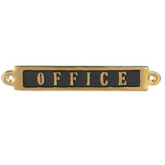 BRASS SIGN OFFICE 900円(税別)