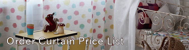 Order Curtain Price List
