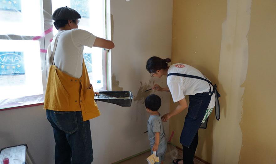 Mamanの家 ペイント塗りしました!