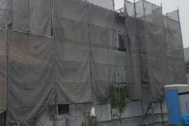 セナジー外壁リノベーション施工中!