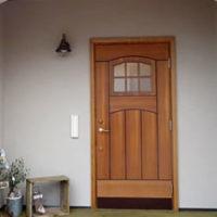 可愛い玄関ドア