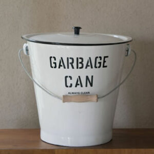 ガベイジ缶 ホワイト  5,027円