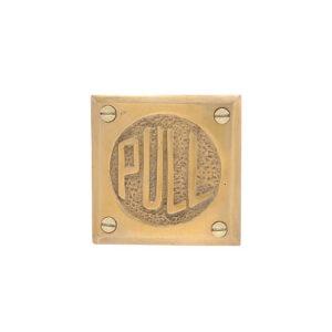 ドアサインゴールドPULL 990円