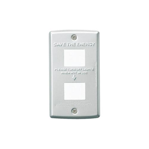 Switch plate 2穴 880円
